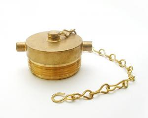 Brass Plug with Chain